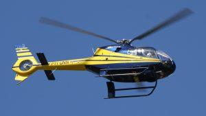 Helikopter Eurocopter EC120 HeliCentre PH-UNN vliegend