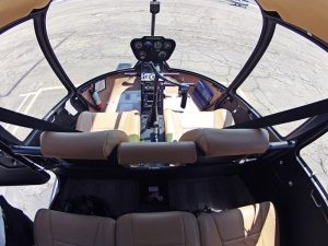 Interieur Helikopter Robinson R44 Raven II PH-JPS HeliCentre