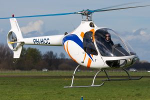 Guimbal Cabri G2 HeliCentre vliegend