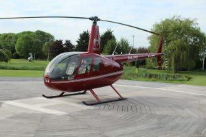 Helikopter Robinson R44 Raven II PH-JPS HeliCentre bij De Koperen hoogte