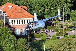 chromen helikopter Robinson R44 Raven II PH-HCA HeliCentre